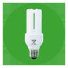 Lampe fluo-compacte classique