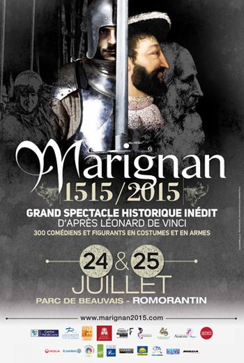 Marignan 1515/2015 : un spectacle historique inédit à découvrir cet été