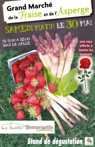 Grand marché de la fraise et de l'asperge @ Halle de Romorantin-Lanthenay