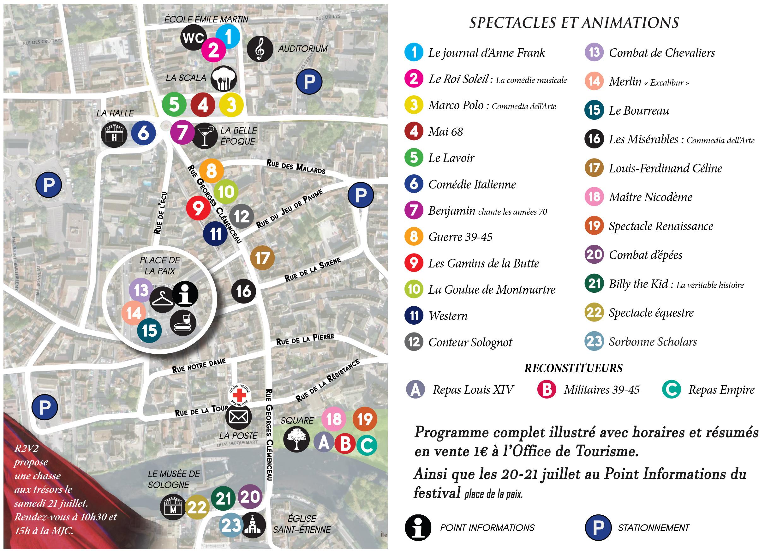 Voyage à travers les siècles @ Centre-ville | Romorantin-Lanthenay | Centre-Val de Loire | France