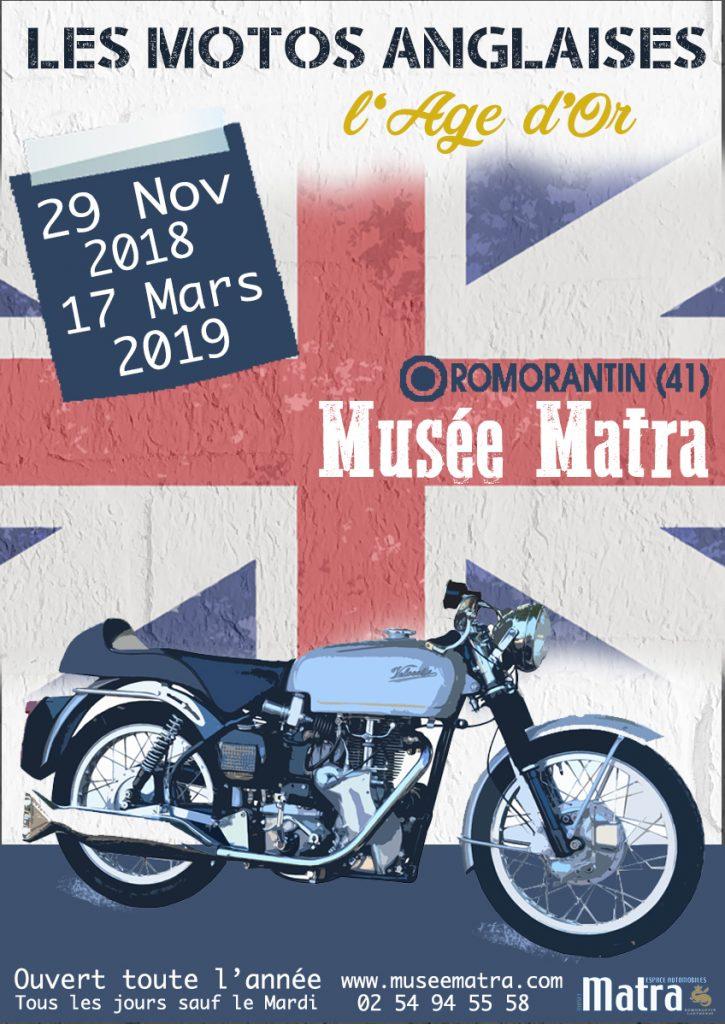 """Exposition : """"L'âge d'or des motos anglaises"""""""