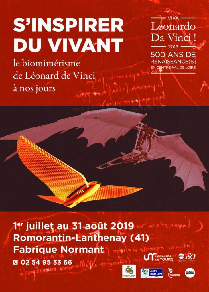 """Exposition : """"S'inspirer du vivant - Le biomimétisme de Léonard à nos jours"""" @ Fabrique Normant"""