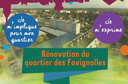 Réunion publique – Rénovation du quartier des Favignolles