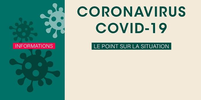 COVID‐19 | Mise à jour 02/07 – 13h30