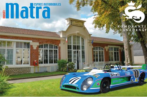 Mise au point de M. Funck-Brentano, co-gérant du Groupe Lagardère, au sujet du Musée Matra Automobiles de Romorantin-Lanthenay