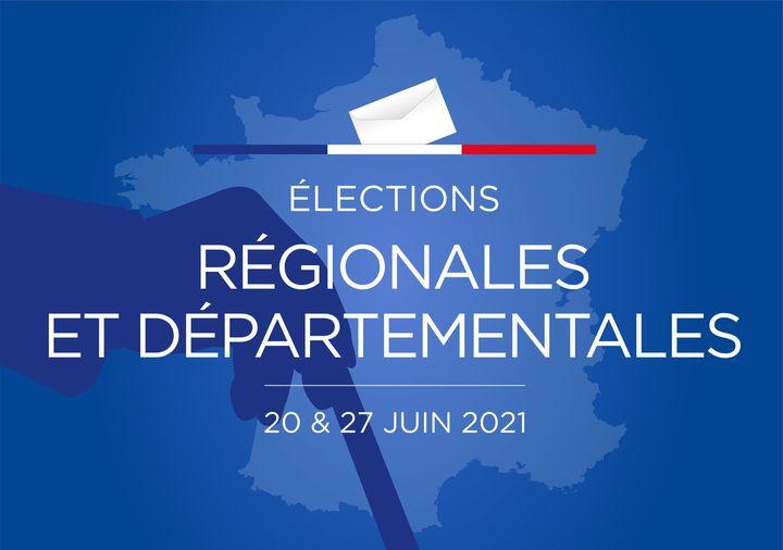 Information relative aux Elections Départementales et Régionales des 20 et 27 juin 2021